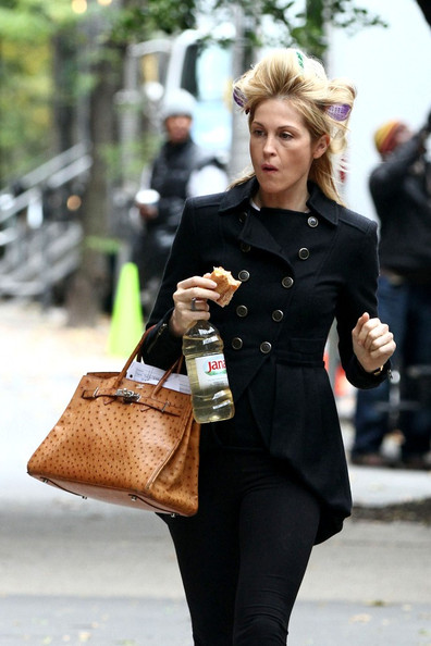 Kelly Rutherford Hermes Birkin 1