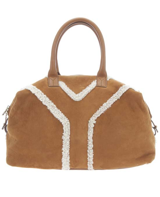 Yves-Saint-Laurent-suede-and-shearling-bag-1