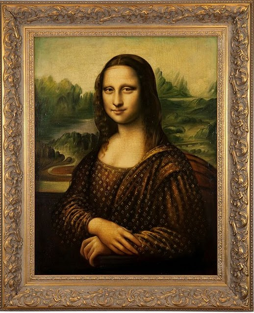 Mona Lisa Vuitton