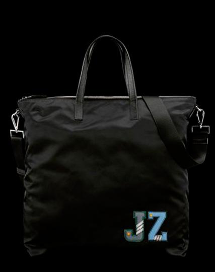 Prada  personalized luxury luggage.