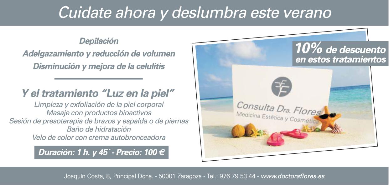 consulta doc Flores, Zaragoza