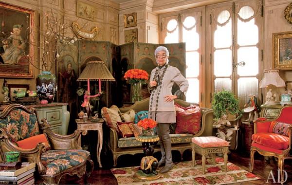 Iris Apfel home