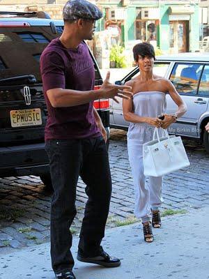 Jada Pinket with Birkin bag
