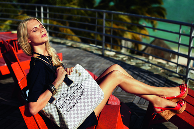 Poppy Delevingne For Louis Vuitton