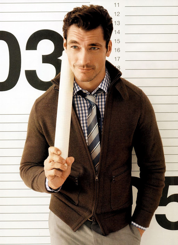 BANANA REPUBLIC SS 2012, David Gandy