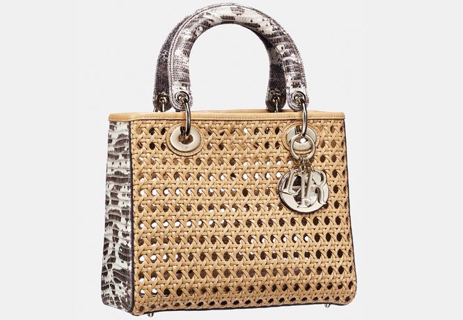 Lady Dior bag,