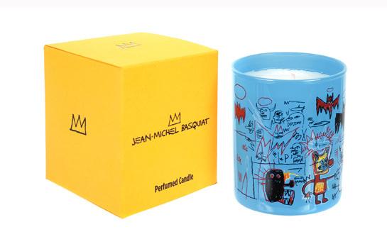 Bougie parfumée Dragon - Jean-Michel Basquiat, 34 euros