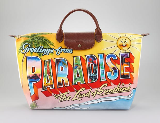 Jeremy Scott for Longchamp Paradise Tote