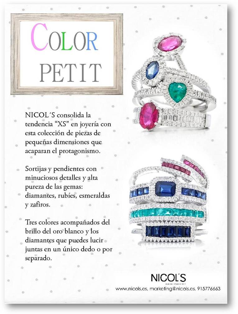 color petit Nicol's