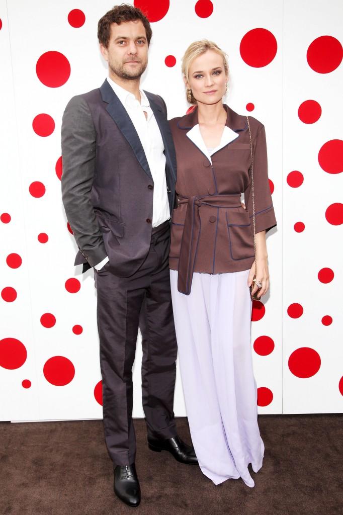 Joshua Jackson - Diane Kruger - LOUIS VUITTON