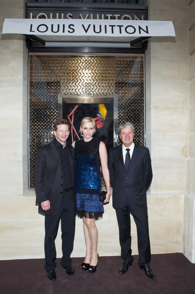 Lorenz Baumer, SAS la Princesse Charlene de Monaco, Yves Carcelle