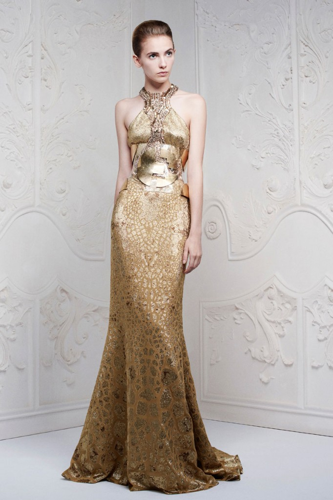 McQueen Pre Collection SS 2013