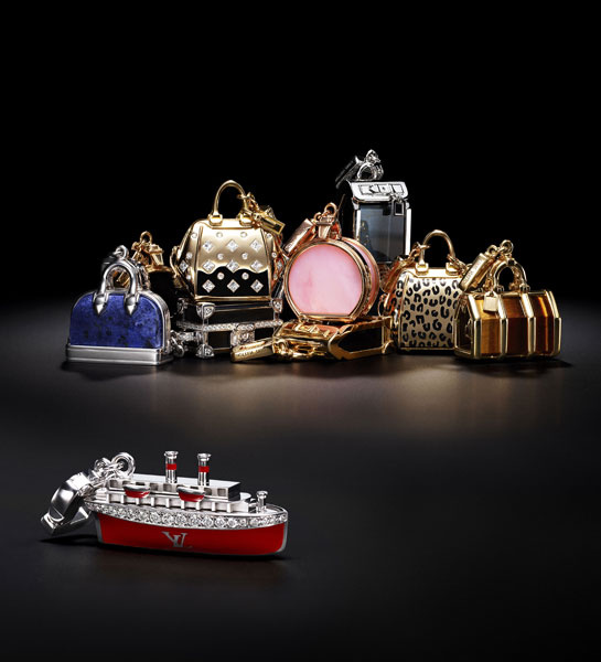 Vuitton charms