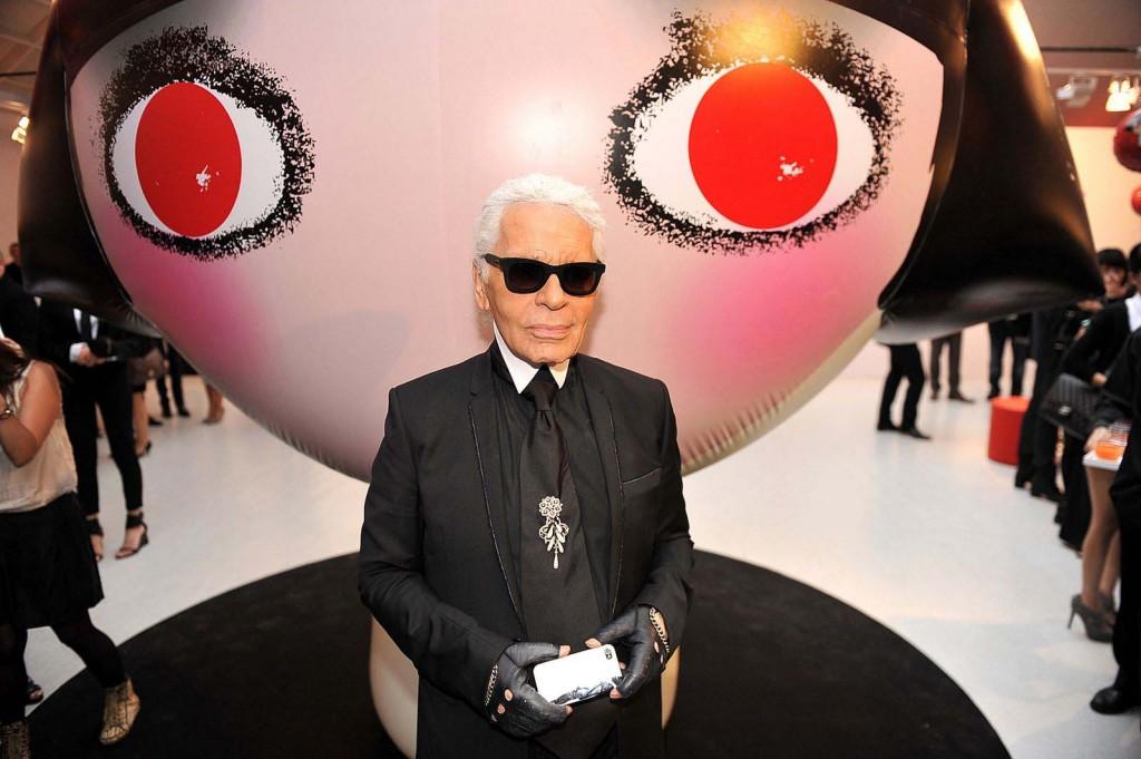 Karl Lagerfeld - credit photo Jean Picon
