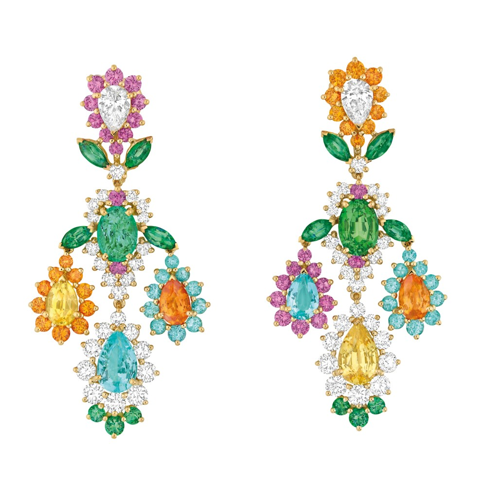 Dear Dior Paraiba tourmaline earrings