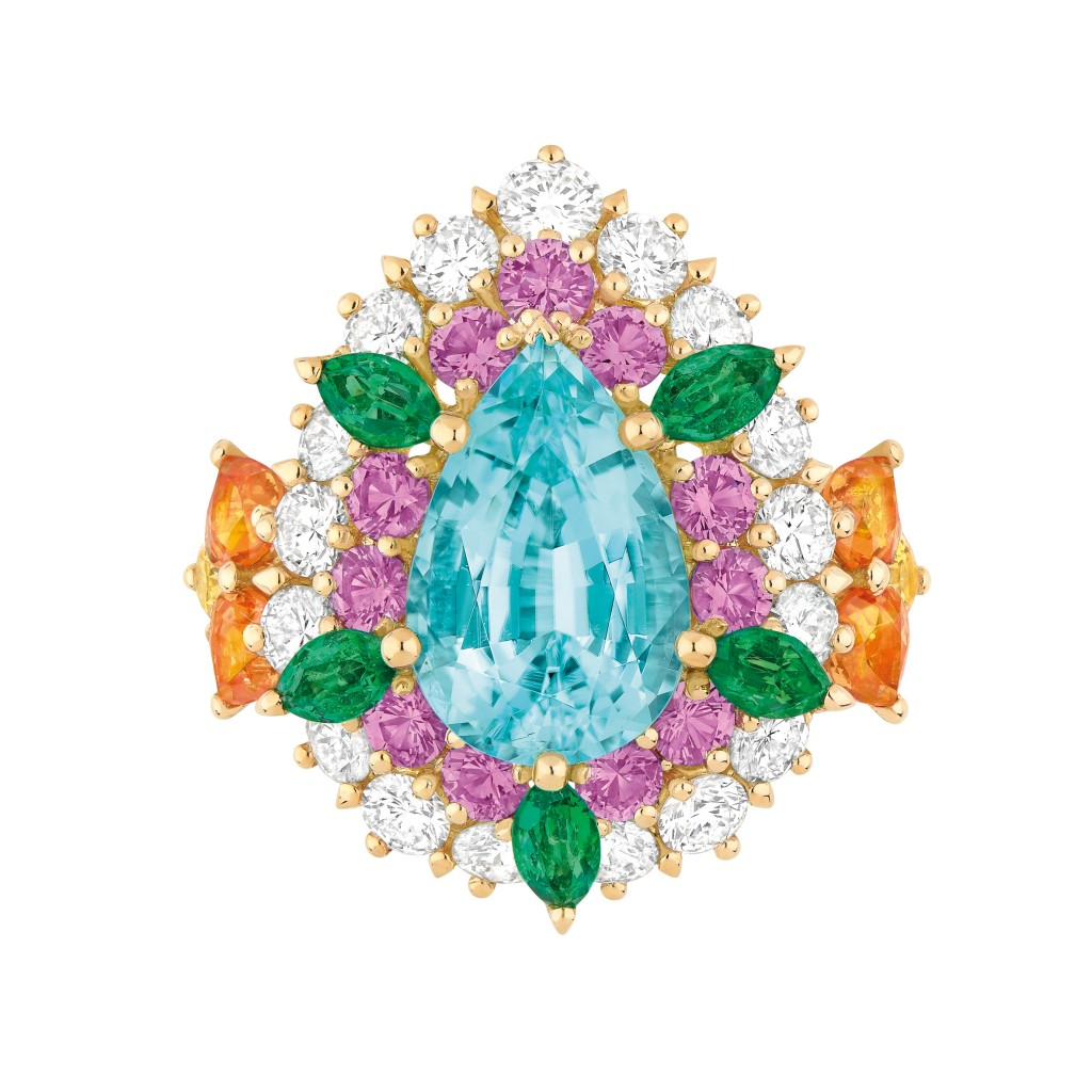 Dear Dior Paraiba tourmaline ring