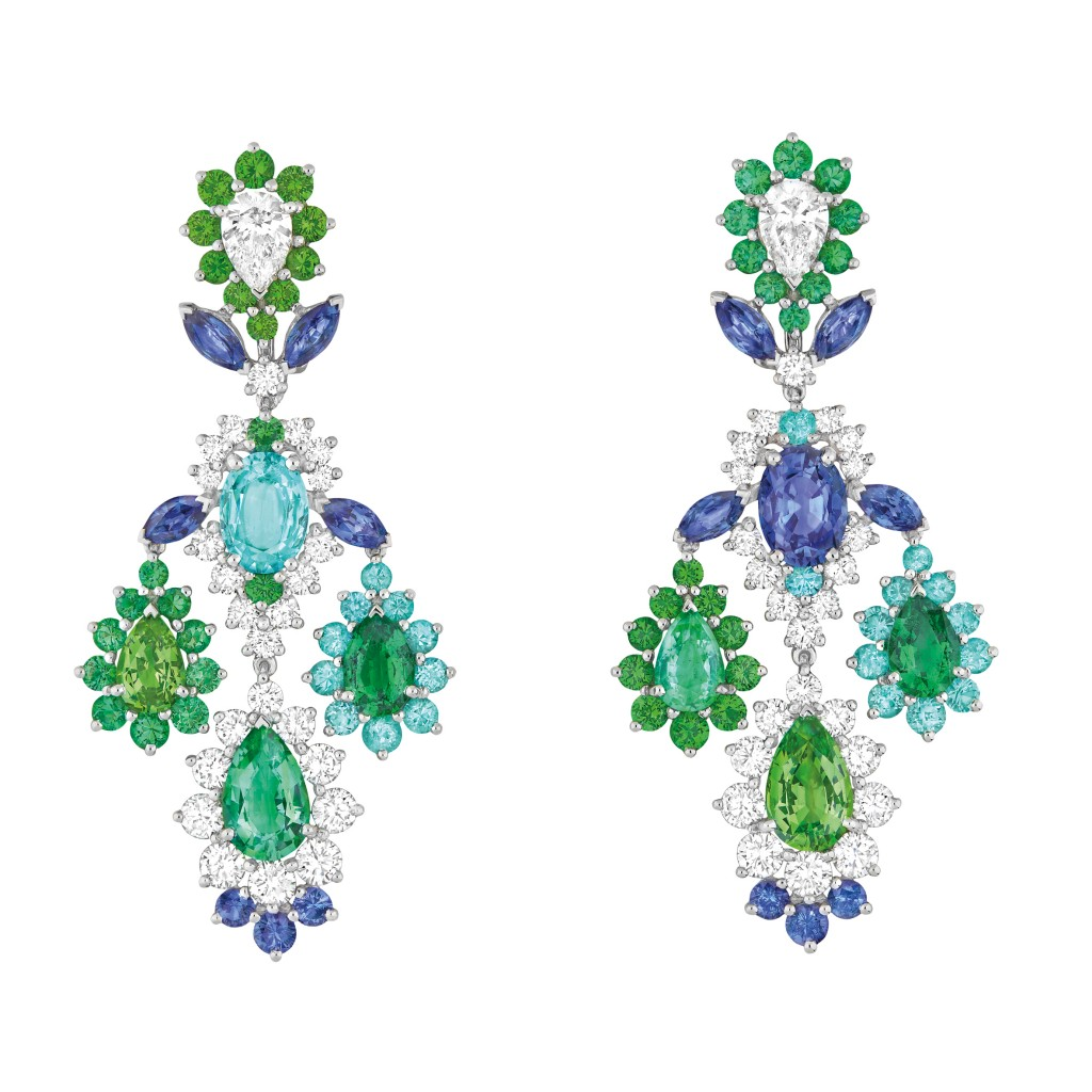Dear Dior emerald earrings