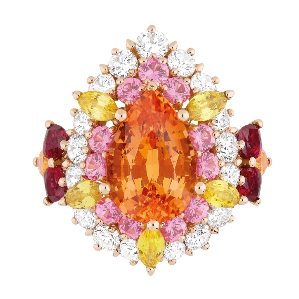 Dear Dior spessartite garnet ring