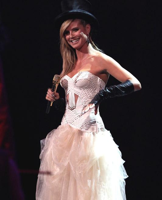 Heidi Klum, MTV Music Awards.