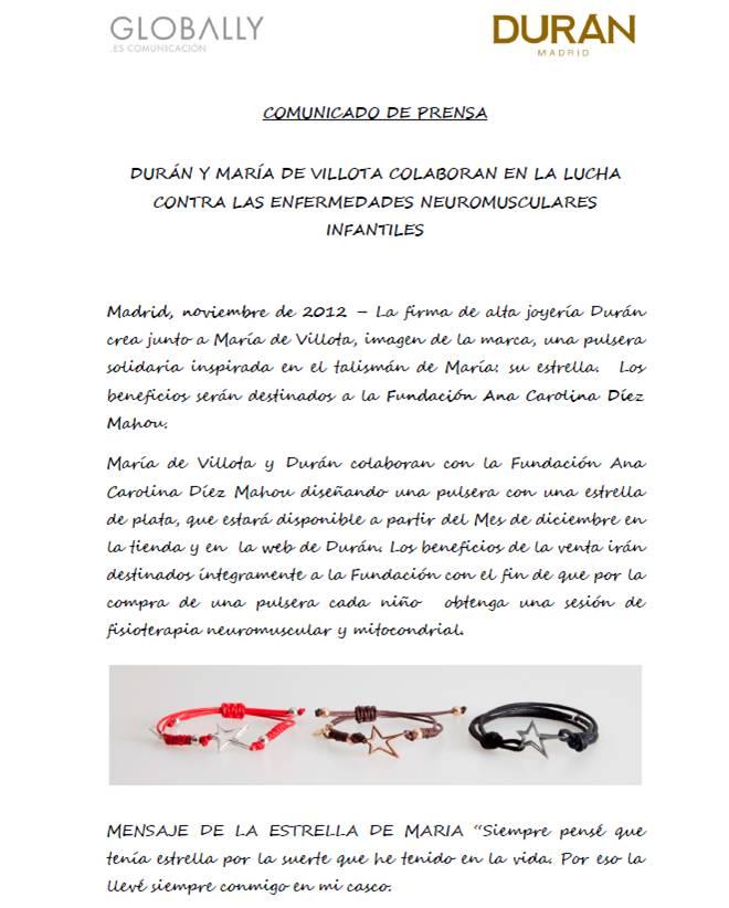 Maria de Villota y durán Madrid