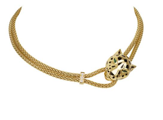 Collar pantera Cartier