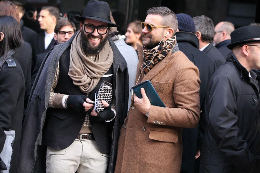 Street Style Fashion Week Men Milano Fall Winter 2013 14 Fiebredebolsosyjoyas Com
