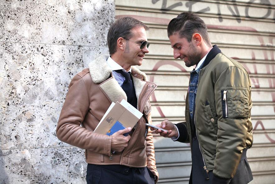 Street Style, Fashion Week Men Milano Fall Winter 2013-14