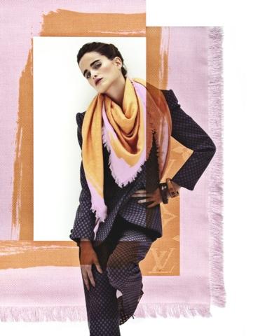 SS 2013 Louis Vuitton Scarves