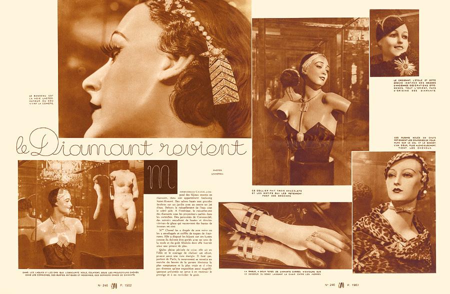 Les diamants de Mademoiselle Chanel