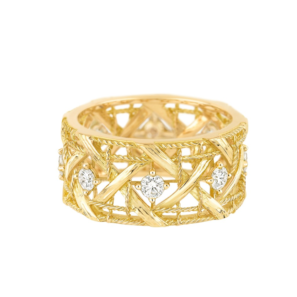 My Dior LM ring - Yellow gold and diamonds