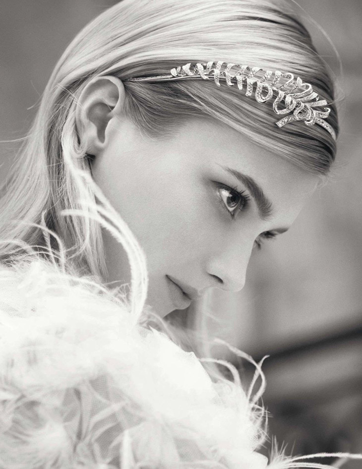 Sigrid Agren for Chanel Jewelry