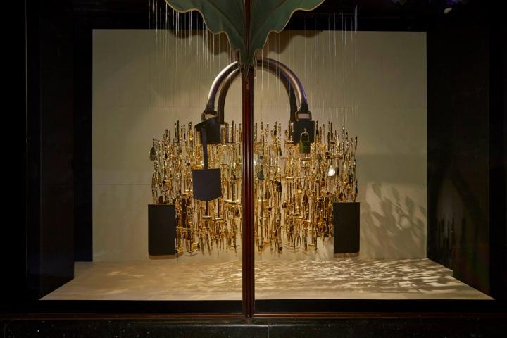 The Handbag Narratives exhibition at Harrods, London