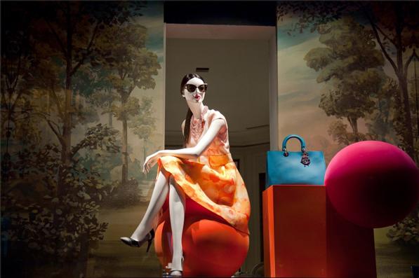 Dior Windows SS 2013