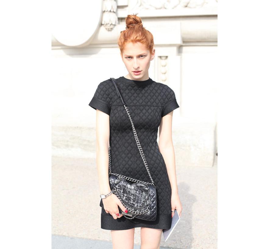 Street style Fashion week Couture 2013-14 Paris