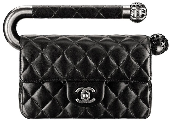 Chanel-Fall-Winter-2013-Collection-Classic-Flap-Bag-With-Metal-Handle