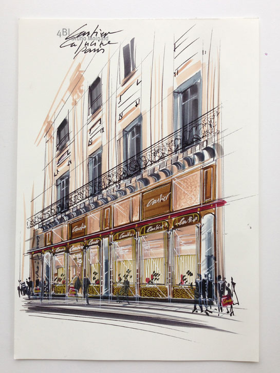 Cartier, new store