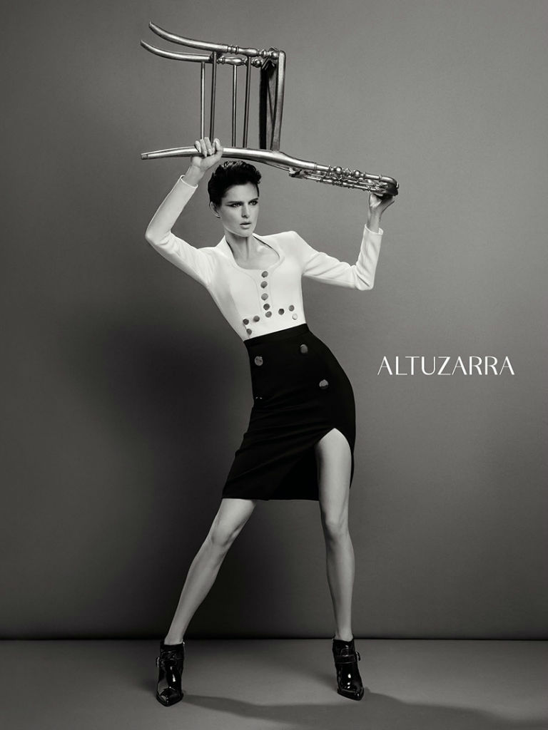 Stella Tennant for Altuzarra FW Campaign