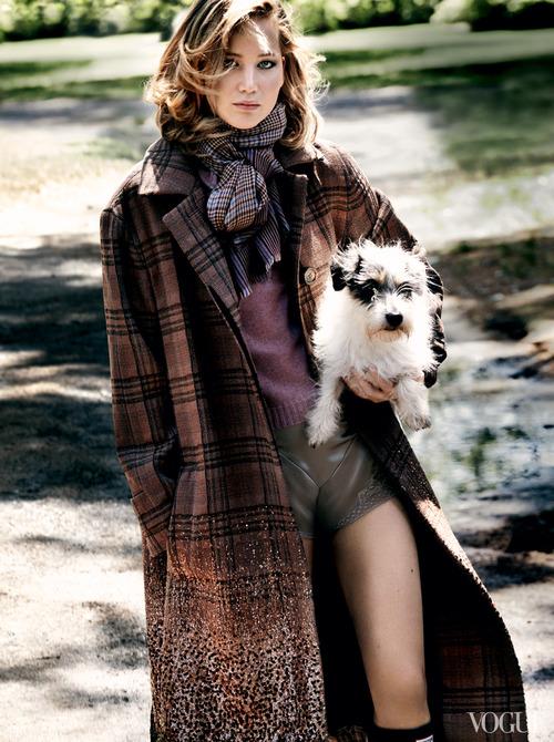 Jennifer Lawrence for Vogue Usa