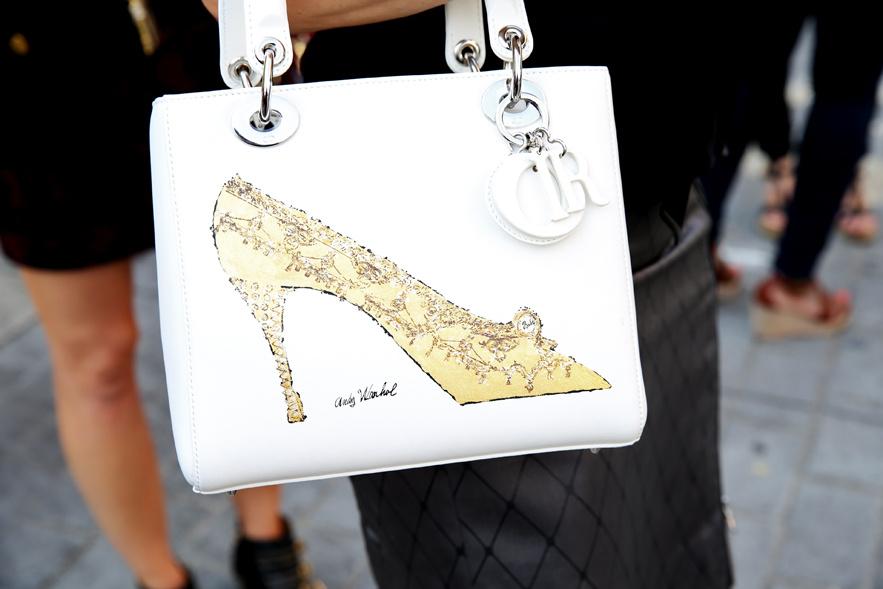 Dior bag, Andy Warhol edition