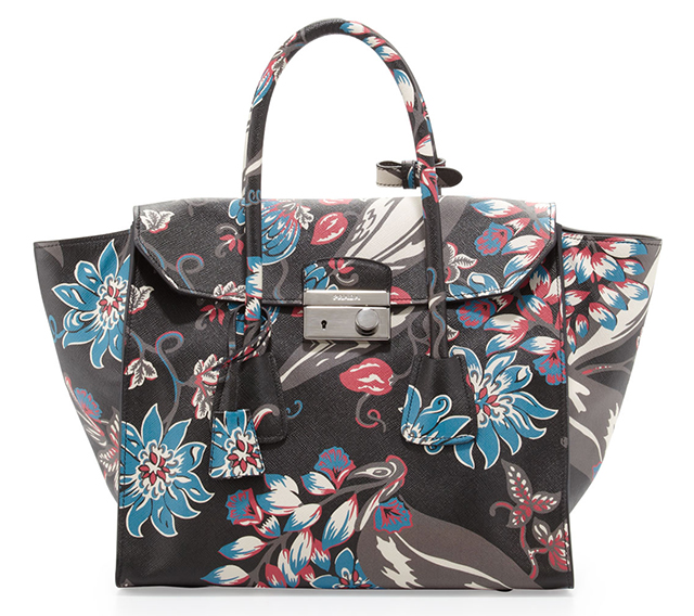 Prada-Saffiano-Large-Floral-Twin-Pocket-Tote