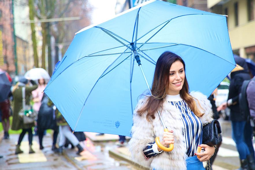 Street Style Milano Fashion Week Fall Winter 2014