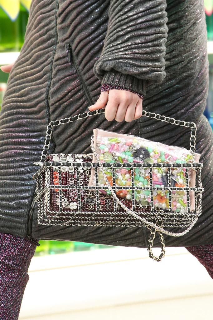 Detalles del Desfile Chanel Otoño-Invierno 2014-2015