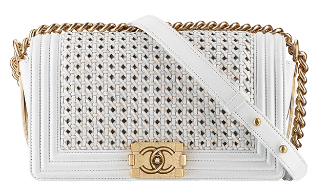 Chanel-Boy-Braided-Flap-Bag-White