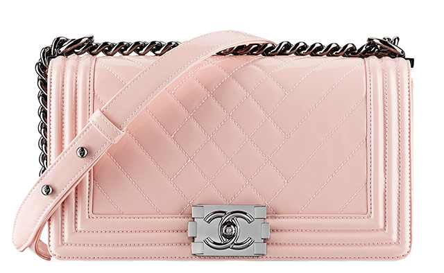 Chanel-Patent-Boy-Bag-Pink