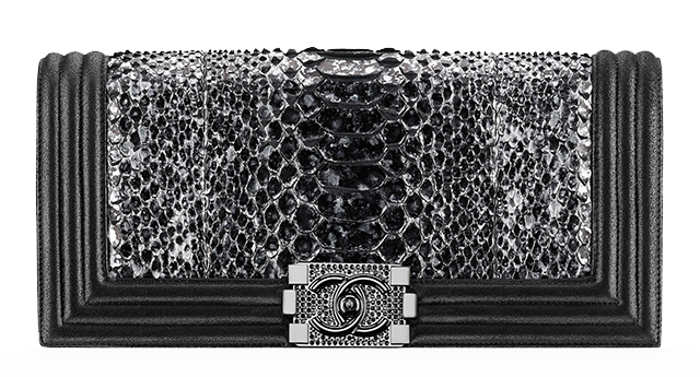 Chanel-Python-Boy-Flap-Clutch