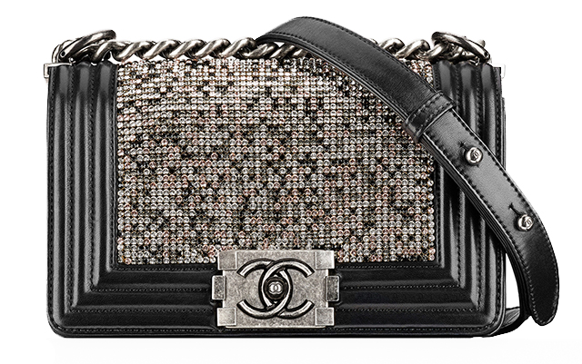 Chanel-Strass-Boy-Bag-Black