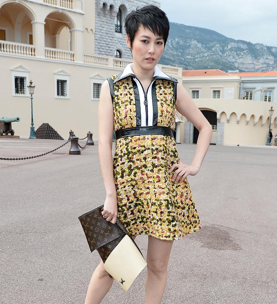 Rinko-Kikuchi-Louis-Vuitton-Flap-Clutch
