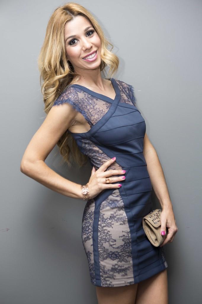 Natalia Rodriguez con pulsera Arabesco