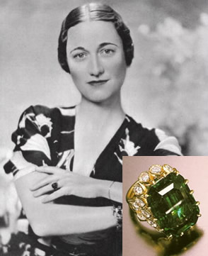 WALLIS SIMPSON ENGAGEMENT RING