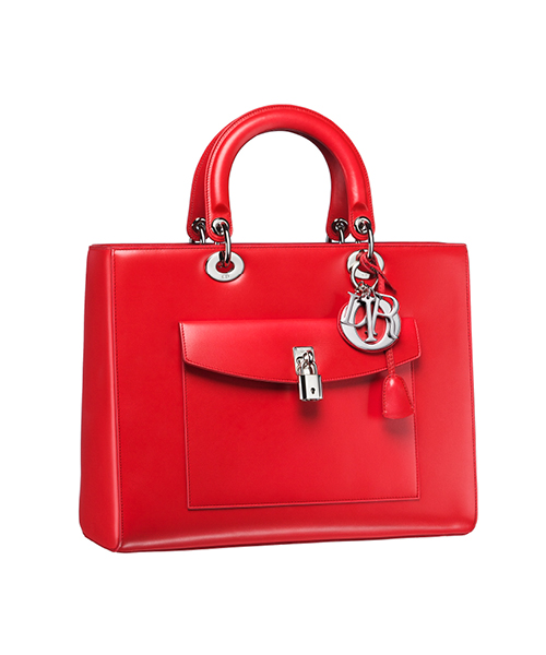 Dior-Fall-Winter-2014-Accessories-Collection-04-diorissimo-red-leather-bag